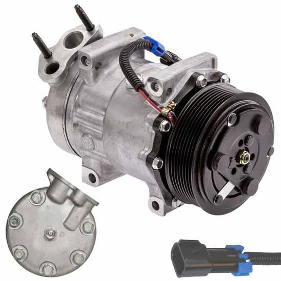 International Navistar Sanden Replacement AC Compressor 4720 3808548C1